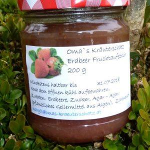 Erdbeer - Fruchtaufstrich