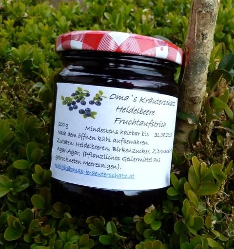 Heidelbeere Fruchtaufstrich 1