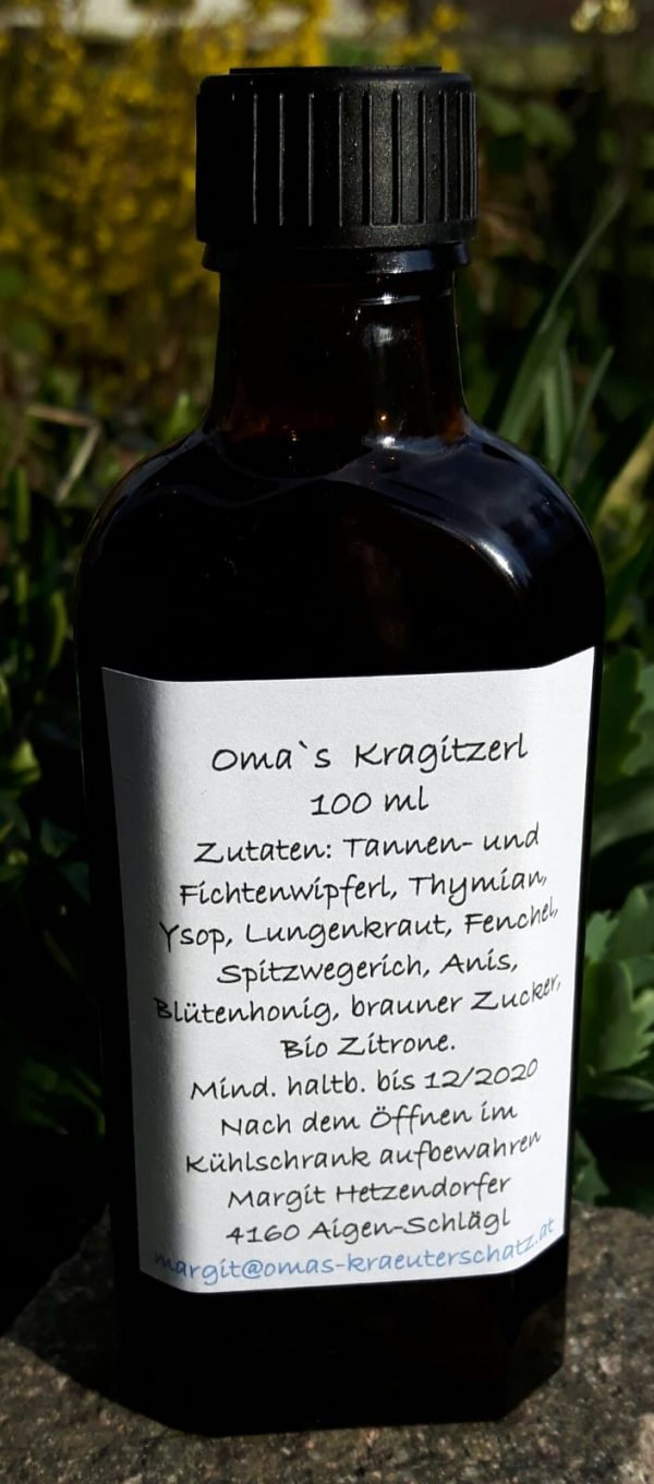 Kragitzerl Sirup 100ml