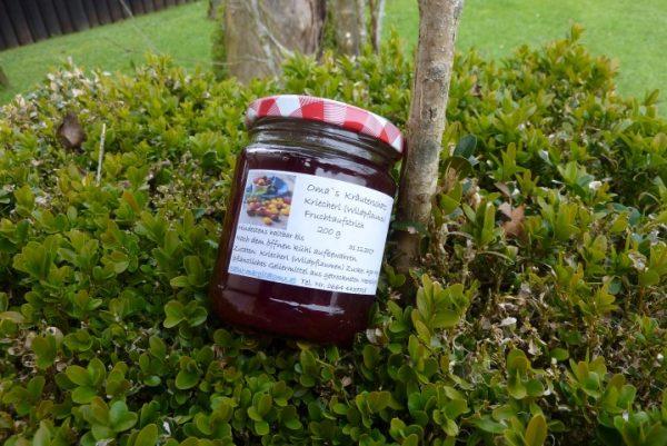 Kriecherl (Wildpflaumen) Fruchtaufstrich 1
